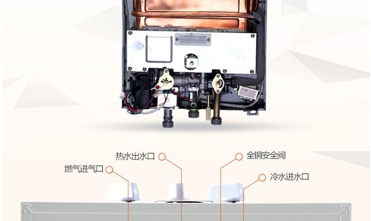 万和jsq16-8b-20燃气热水器(液化气)(8升)【国美配送 支持货到付款】图片